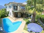 Luxury villa,large private pool,beautiful garden,free internet