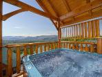 Enjoy the views while soaking in your hot tub.