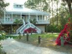 Beautiful Barrier Island Beach House with New Pool, Spa and Dock