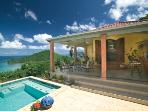 Lovely 3 Bedroom Villa with View of the Caribbean Sea in the West End