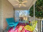 Relax on our side porch!