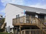 St. George Island Vacation Townhome on the beach