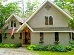 Escape to this wonderful artisan style mountain home to enjoy the cool breezes at a higher elevation in Lake Toxaway Estates