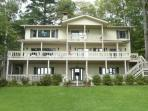 The Spiek-Easy- Beautiful 5BR lakefront property situated on Lake Toxaway, with over 5,000 sq. of living space.