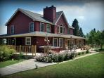 White Tail Ridge Bed & Breakfast - Madam Dora Room