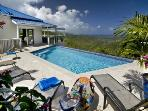 2 Bedroom Hillside Villa with Panoramic View on St. John