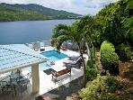 Fantastic 4 Bedroom Villa overlooking Magans Bay on St. Thomas