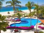 Free Golf included in your Rental on Three of  Los Cabos Golf Courses