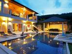 Breathtaking 7 Bedroom Villa in Phuket as Holiday Rental - nai19