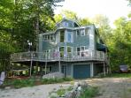 Waterfront Beach House on Sunset Lake Alton Bay NH