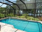 Florida, villa, vacation home, pool, golf, fishing