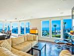Urban-chic penthouse with expansive ocean views.