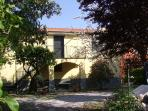 Country style apartment with garden in Chiavari
