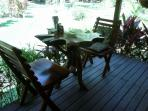 Tree Table, Front Deck