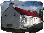 Traditional 150 year old cottage Donegal Ireland