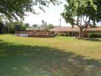 Huge backyard, perfect for horshoes, bocce ball or frisbee