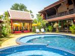Balcony suite 3 bd in Khmer Villa