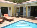 Luxury East End Villa - Private Pool - 2 BR/2 Bath