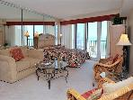 14th floor studio condo overlooking the Gulf of Mexico! 10% off July Stays!