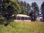 Private simple cabin 12 miles to south Maine coast