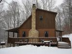 Great Log Home For Get Togethers