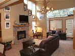 Remodeled Ski in Ski out two bedroom at the full service Iron Horse Resort.