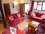 Village cottage: log fire,stream&ducks-BrookHouse2