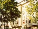 Vacation Apartment in Dusseldorf - 377 sqft, recently renovated, quietly located (# 494)