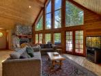 Stunning Mountain Home with Log Cabin accents, Private Hot Tub and a Sauna (MY62)