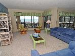 Topsail Dunes 2213 Oceanfront! | Community Pool, Tennis Courts, Grill Area, Internet