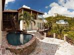 Baywood Villa is a wonderful Caribbean style villa in Dawn Beach Estates