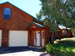 Beautiful 2014 sq. ft. cabin home on a 27,000 sq.ft. lot with double driveway and large front yard in quiet upscale...