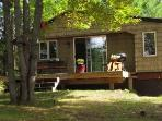 Evergreen Cottage near Pictured Rocks , cozy, semi secluded, woodsy view!