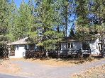 Clean, comfy family home- near lodge, large windows, full kitchen, A/C
