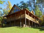 Perched in the foothills of the Smokies with a birds'-eye view!