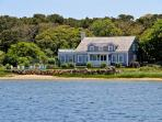 CLASSIC WATERFRONT CAPE ON SENGEKONTACKET POND WITH PRIVATE BEACH - EDG BPUR-09