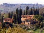 Gorgeous Florentine villa with easy accees to the city, swimming pool, garden, breathtaking views