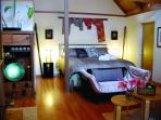 Hula Moon Cottage in exquisite Japanese Deco, best Garden View, mini kitchen, own bath, Wi-Fi