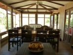 Great Room, dining for 8 people
