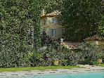 St.Remy-de-Provence, Dream Bastide in Provence, Private Pool, tennis, and Elegant Gardens, Sleeps 12
