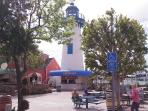 Fishermans Village offers great restaurants, rent a boat, jet ski and have an ice cream!