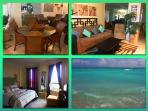 1 bedroom Suite, on boardwalk, beach front, WiFi