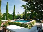 Authentic Provencal Family Home Le Grand Jardin with Private Pool, Landscaped Gardens & Cottages