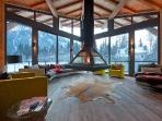 Chalet Cragganmore with sauna, massage room, gym, climbing wall and cinema room