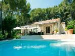Secluded Family-Friendly Countryside Retreat Villa Cecile Set in Lovely Garden with Pool