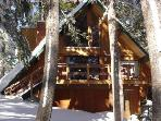 Charming Ski In/Out... Slope-side Cabin... Steps t