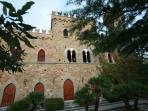 Borgia Castle  on Trasimeno lake Tuscany Umbria
