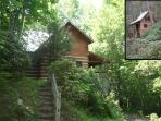 Two Cabins One Low Price*Hot tub*Creek*Fireplaces