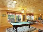 Game Room - Slate Pool Table!