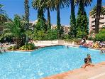 Attractive apartment for 4 persons, with swimming pool , near the beach in Golfe Juan
